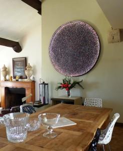 salle à manger tableau de Marc Colonna d'Istria