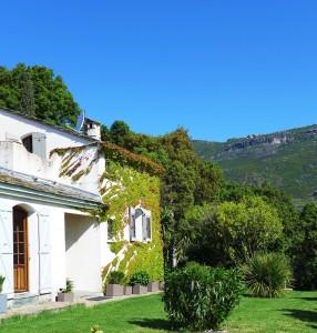 villa et vue montagne